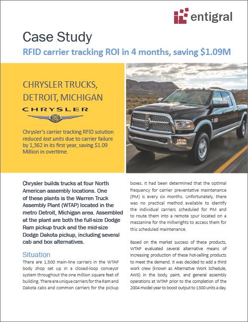 Chrysler Trucks RFID Case Study