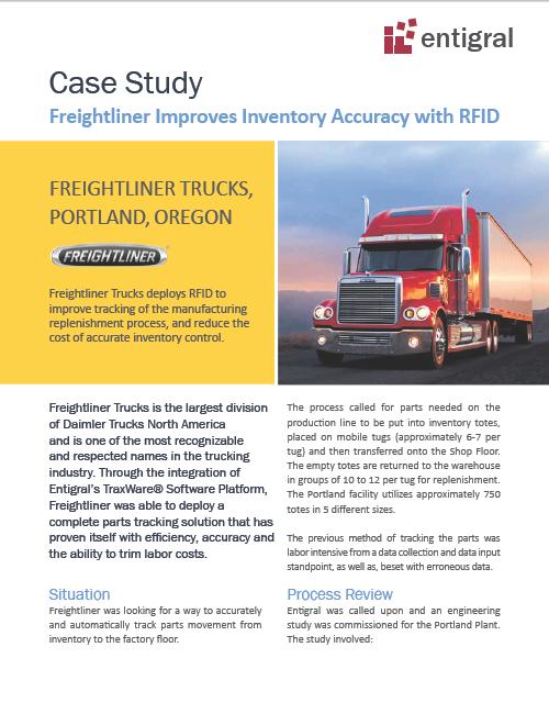 Freightliner Trucks RFID Case Study