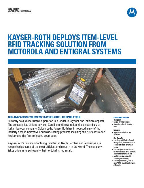 Kayser Roth RFID Case Study