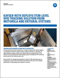 Kayser Roth Case Study