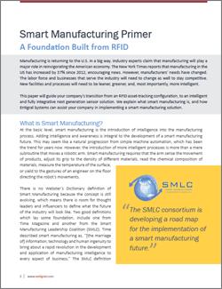 Smart Manufacturing Primer